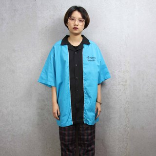Tsubasa.Y ancient house bowling shirt 012, bowling shirt, short-sleeved shirt thin shirt