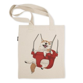 AMO Original Tote Bags/AKE/The SHIBA On The  Swing