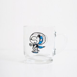 PEANUTS GLASS MUG 玻璃馬克杯