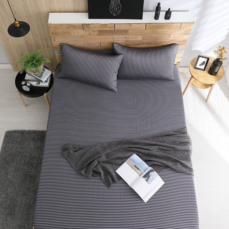 Self-seeking - extra large Tiansi bed bag pillowcase three-piece group [40 100% lyocell] 6*7 feet