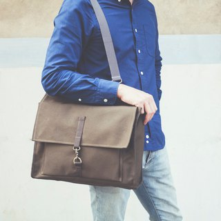 Canvas three briefcase
