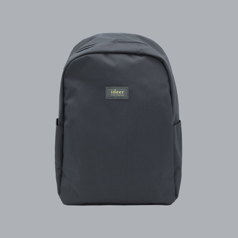 Gray water-repellent nylon anti-theft backpack notebook computer backpack computer bag travel bag