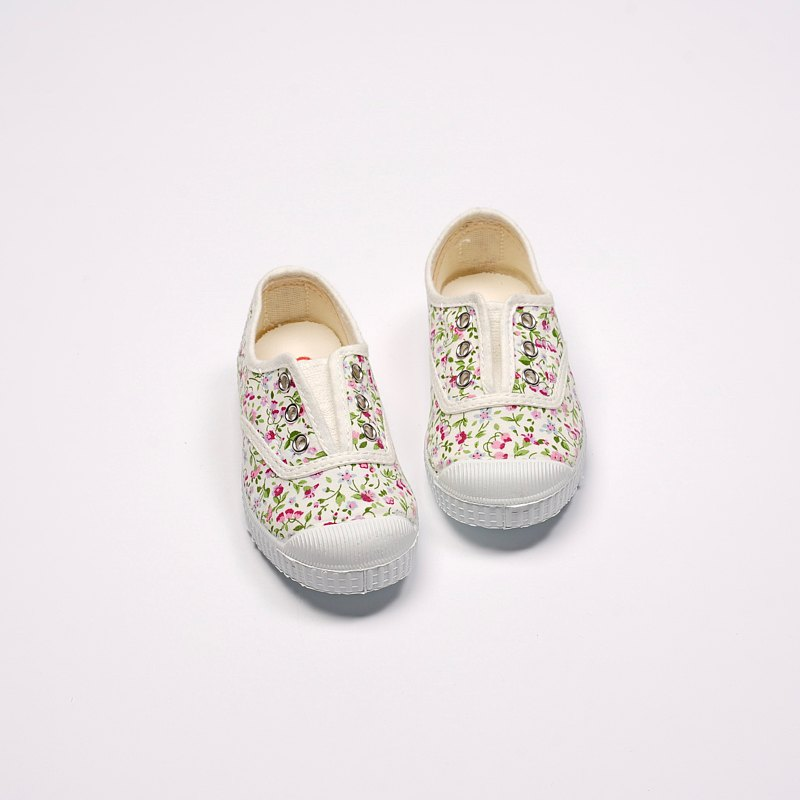 Spanish national canvas shoes CIENTA 70999 05 floral classic fabric children's shoes