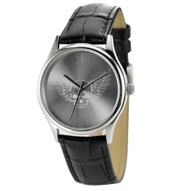 Christmas gift Sunray Dial Watch (Skull with wings) Free Shipping Worldwide