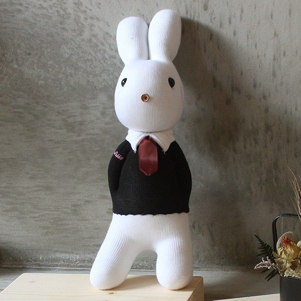 Merry Me witness the wedding - the groom rabbit design models - handmade, marriage, marry, weddings, small objects, remember