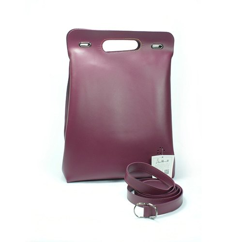 Deux Filles en Fil [France] SAC KABA- folding bag plum (purple)