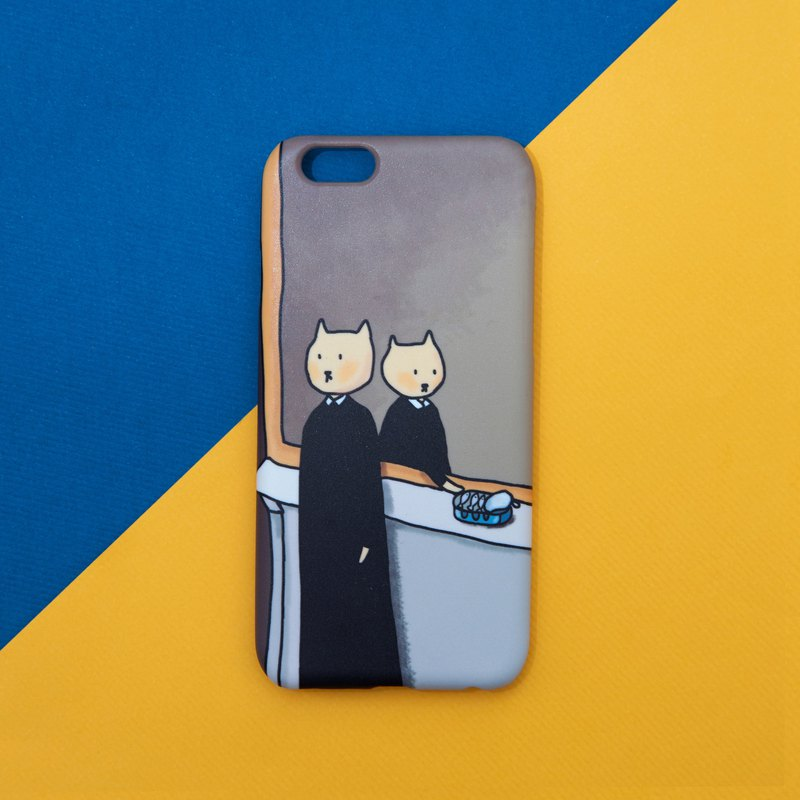 the cat not to be reproduced phone case