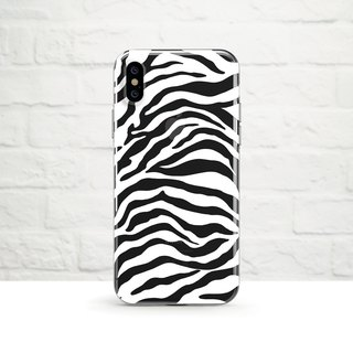 Zebra, white, iPhone Xs Max, Xr to iPhone SE/5, Samsung