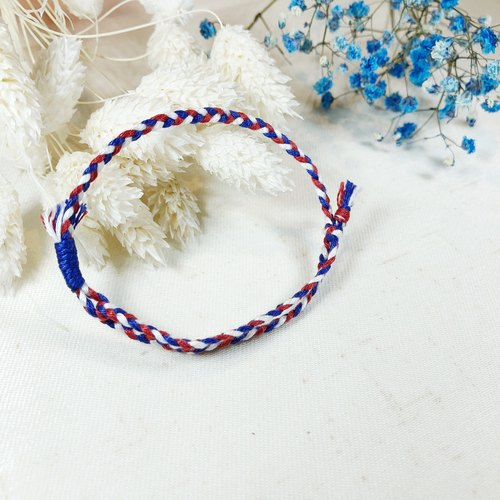 Shimmering Prayer! Lucky Bracelet #z18 Love Blue