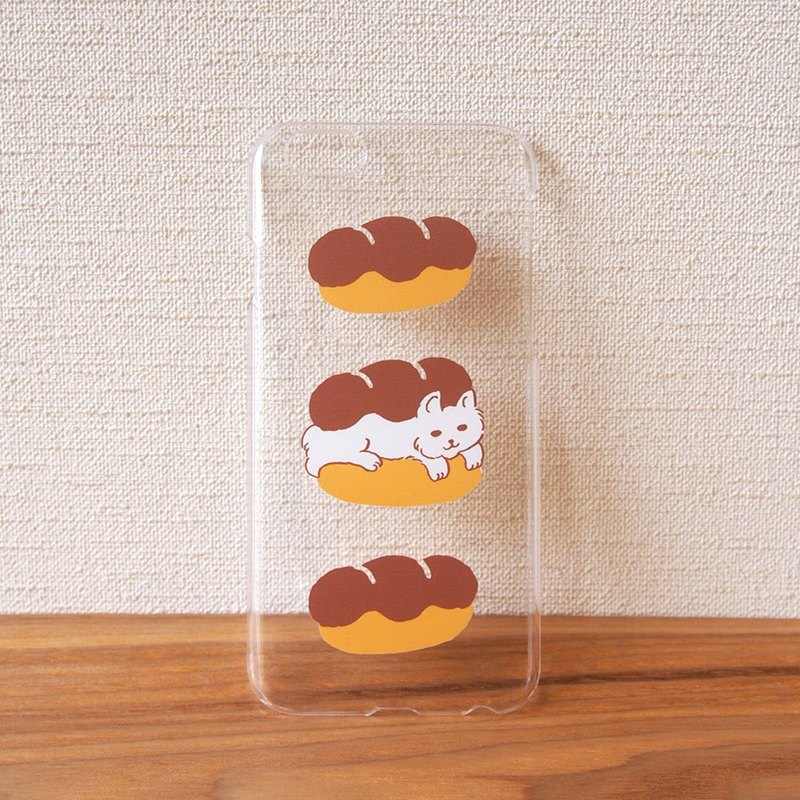 Clear android phone case - Cat Sandwich -
