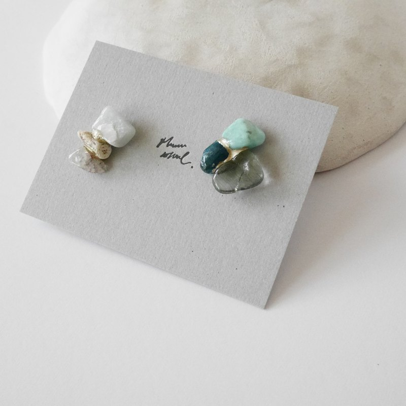 Jin Ji earrings ピアス / イヤリング | sea series no.39