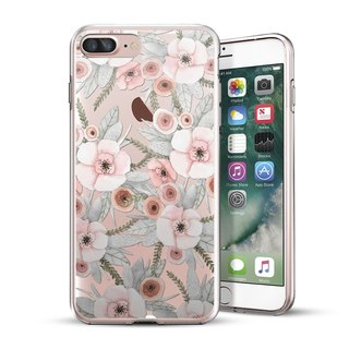 AppleWork iPhone 6 / 6S / 7/8 Plus original design protection shell - flowers CHIP-060