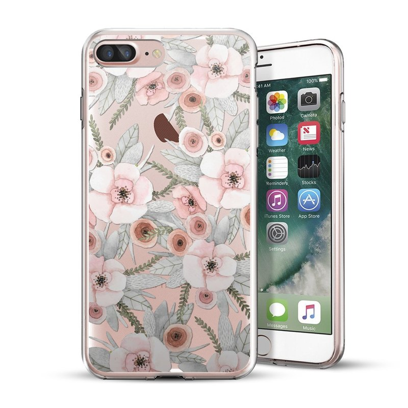 AppleWork iPhone 6/7/8 Plus Original Design Case - Flower CHIP-060