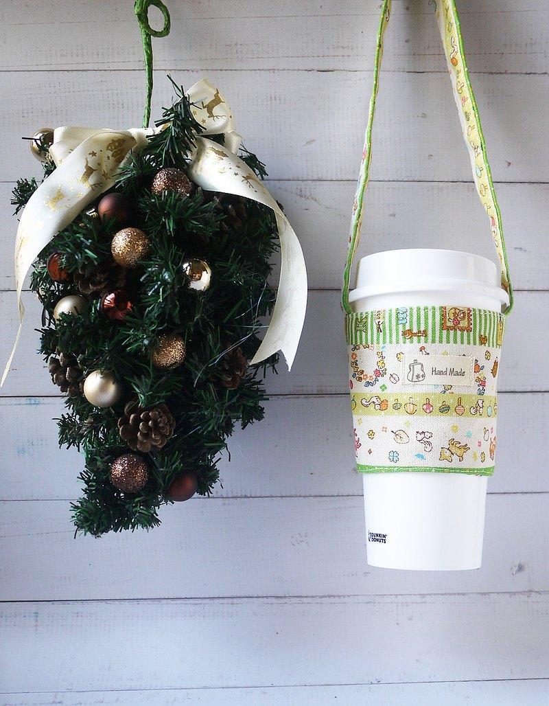 環保禮物 首選森林派對手搖飲料提袋