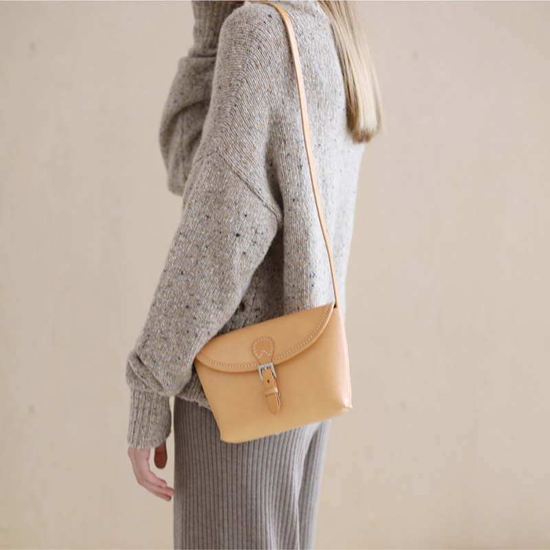 JOYDIVISION Vegetable Tanned Shoulder Ladies Crossbody Bag