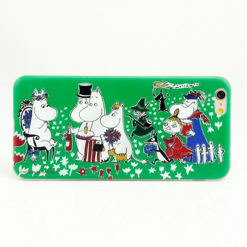 Moomin Moomin rice authorized - Birthday Party - TPU phone shell <iPhone/Samsung/HTC/ASUS/Sony/小米> AE65