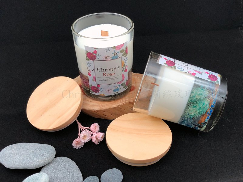 Candlelight Reflection Series Fragrance Soy Candle 160g Gift Pieces