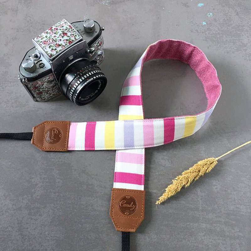 Pink Mix  Mirrorless or DSLR Camera Strap