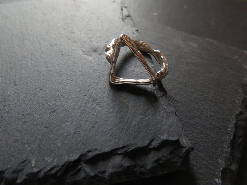 único Series - Triangle ii  (925 Sterling Silver Ring)