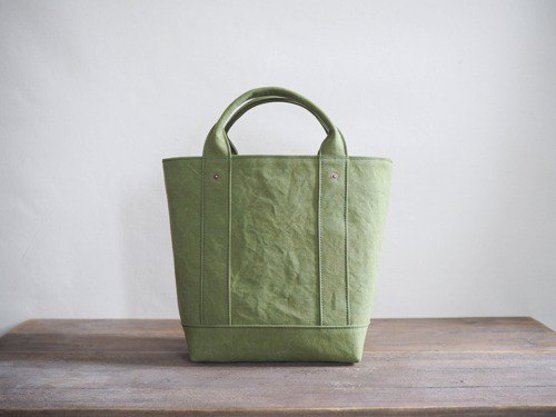 [ARMY DUCK] tote with lid