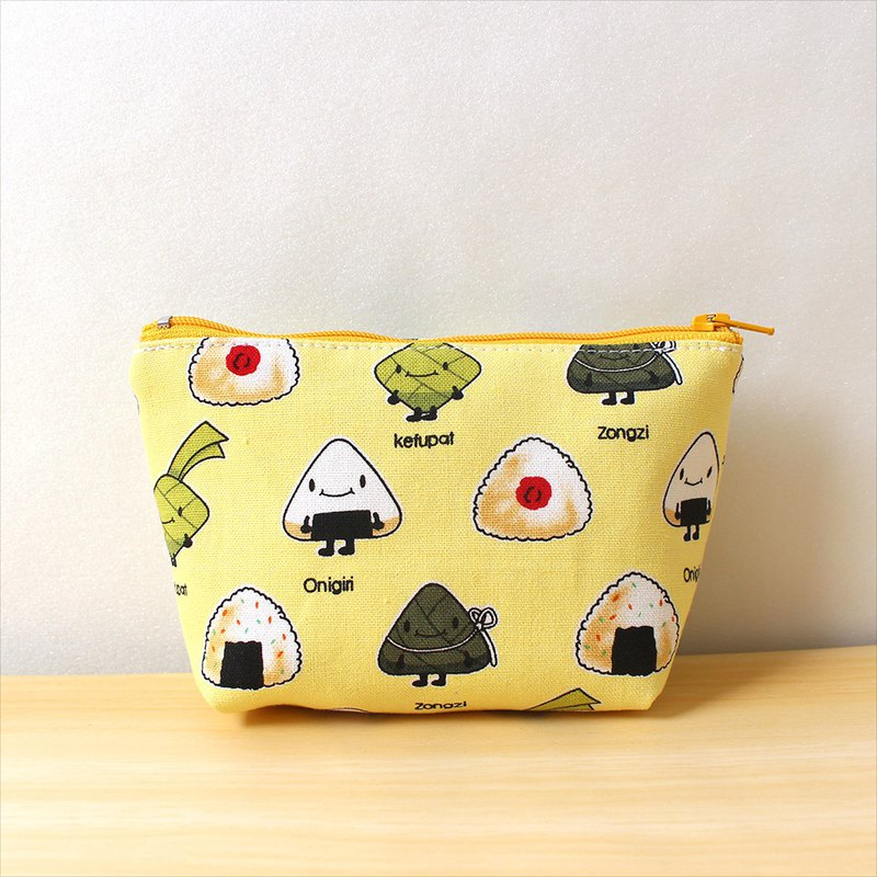 Rice ball storage bag / sundries bag purse hygiene cotton bag