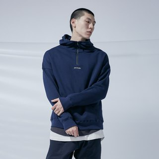 DYCTEAM - Waterproof Zipper Hoodie Brushed zipper cap TEE