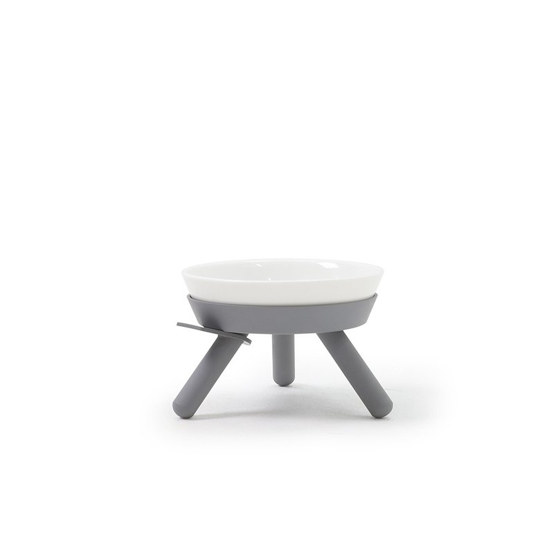 Oreo Table Low Dish Set - Grey