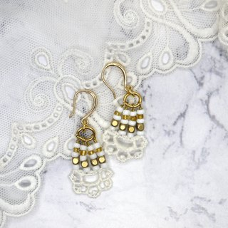 Classic Lace Baroque Earrings Earrings