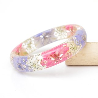 FlowerSays / Little Twins Star - Real Flower Bracelet / PinkCollection / Eternal