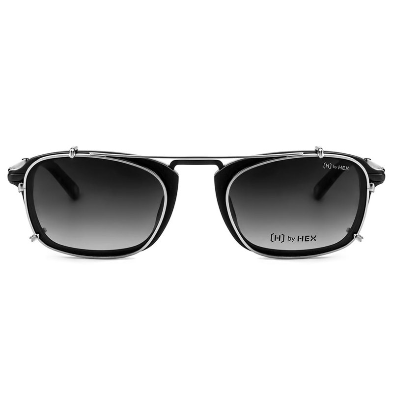 Optical with front hanging sunglasses | Sunglasses | Fog black box | Taiwanese