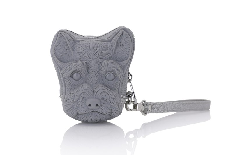 Adamo 3D Bag Original Schnauzer Clutch Bag