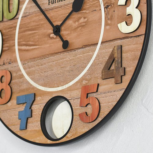 Bergo- color gentle swing clock wall clock