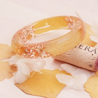 FlowerSays / Ginkgo Real Flower Bracelet / Autumn Collection / Eternal Flowers / Bracelet