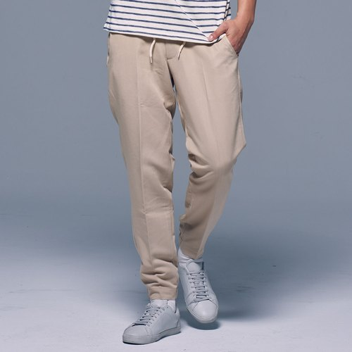 Stone'As Cropped Chino Trousers / ankle casual trousers and khaki pants work pants