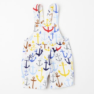 UK handmade - WHAT MOTHER MADE - Anchor strap shorts