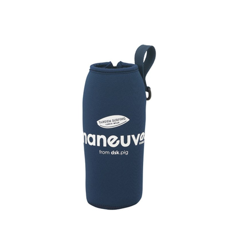 CB Japan Marine Series Cold Insulation Tote Bag-Navy Blue