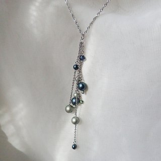 Lightup workshop - Stainless Steel necklace with SWAROVSKI ELEMENTS