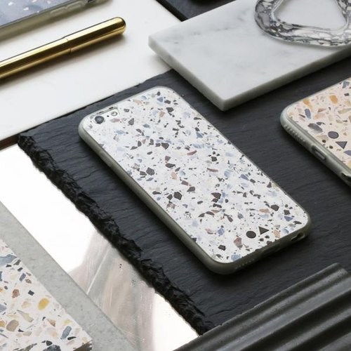 FORM MAKER iPhone Case 6S / 7 / 8 白色Terrazzo