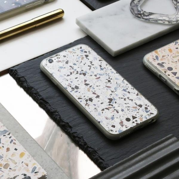 FORM MAKER iPhone Case 6S / 7/8 White Terrazzo
