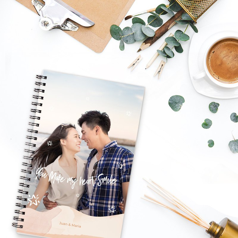 "Photobook Thailand Personalized Notebook 5""x8"" - 2 Identical Copies"