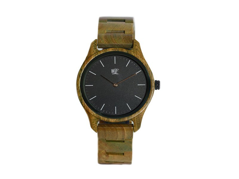WILS FABRIK - Adventurous - Green Sandalwood Watch