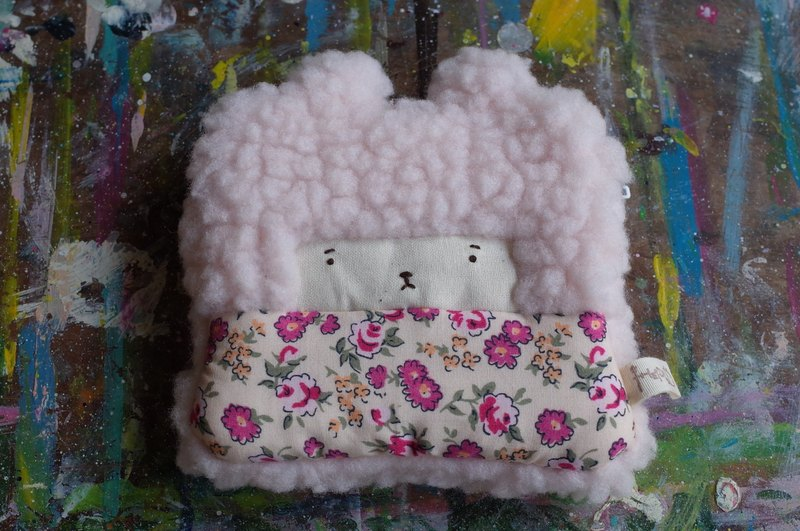 Bunny Bunny Coin Purse - Pink Hair Color -028 Pomace Pink Flower