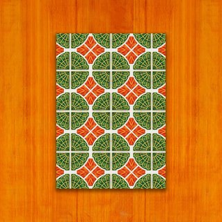 Old House - Classic Mosaic Tile Postcard – 46