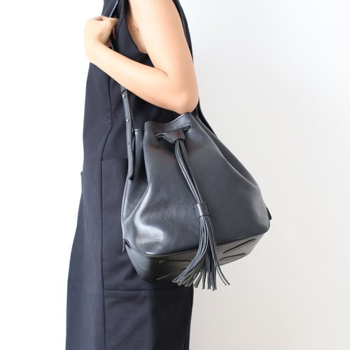 Leicester bucket bag /Black