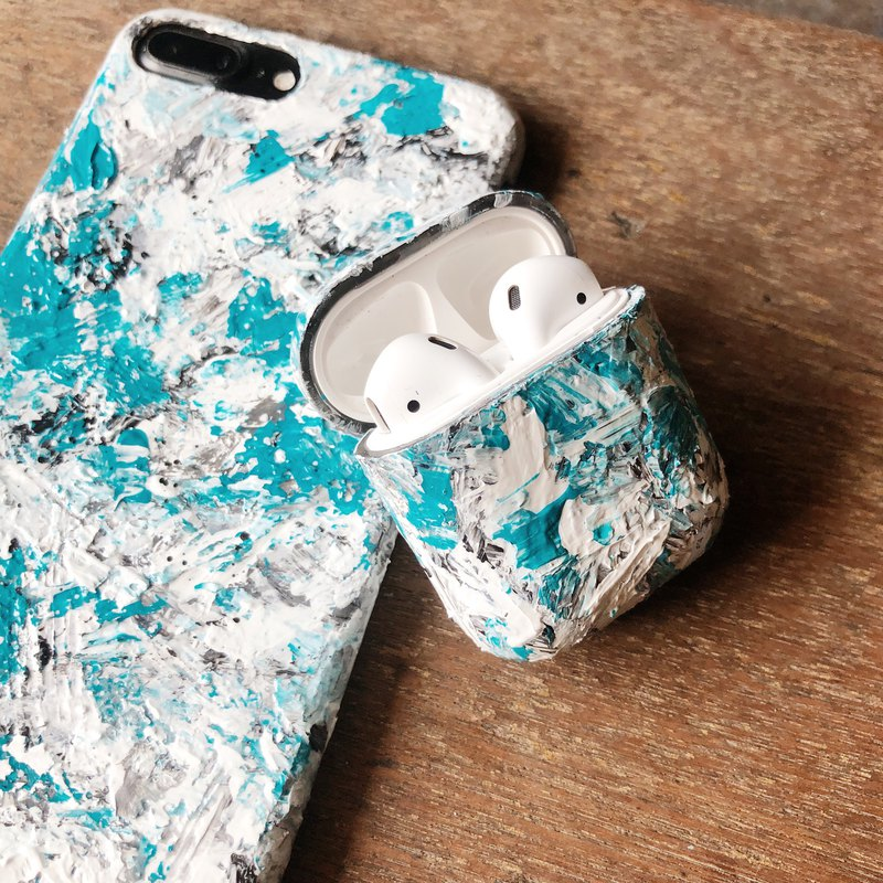 Cool Store Airpods protective shell texture texture series hand-painted protective hard shell does not fade
