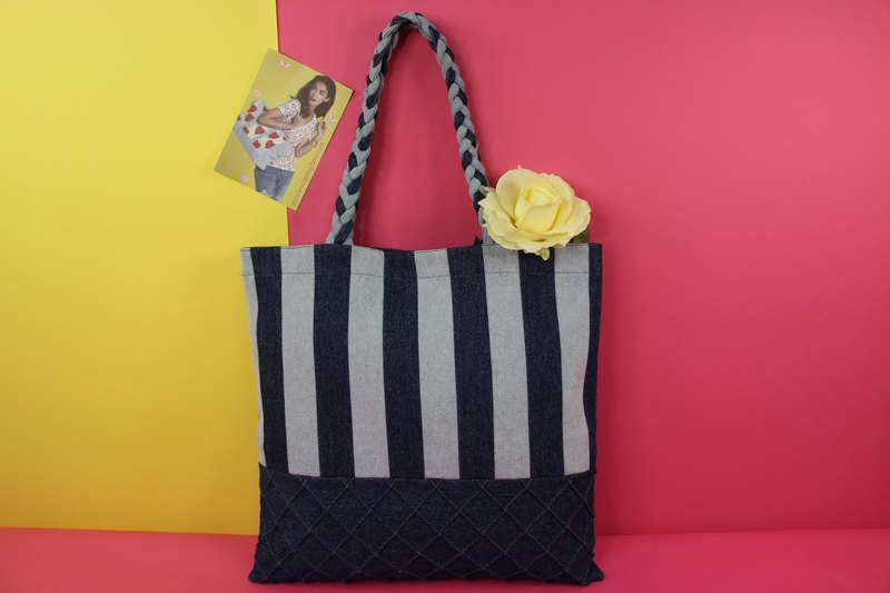 Perfect Outing Denim Tote Bag