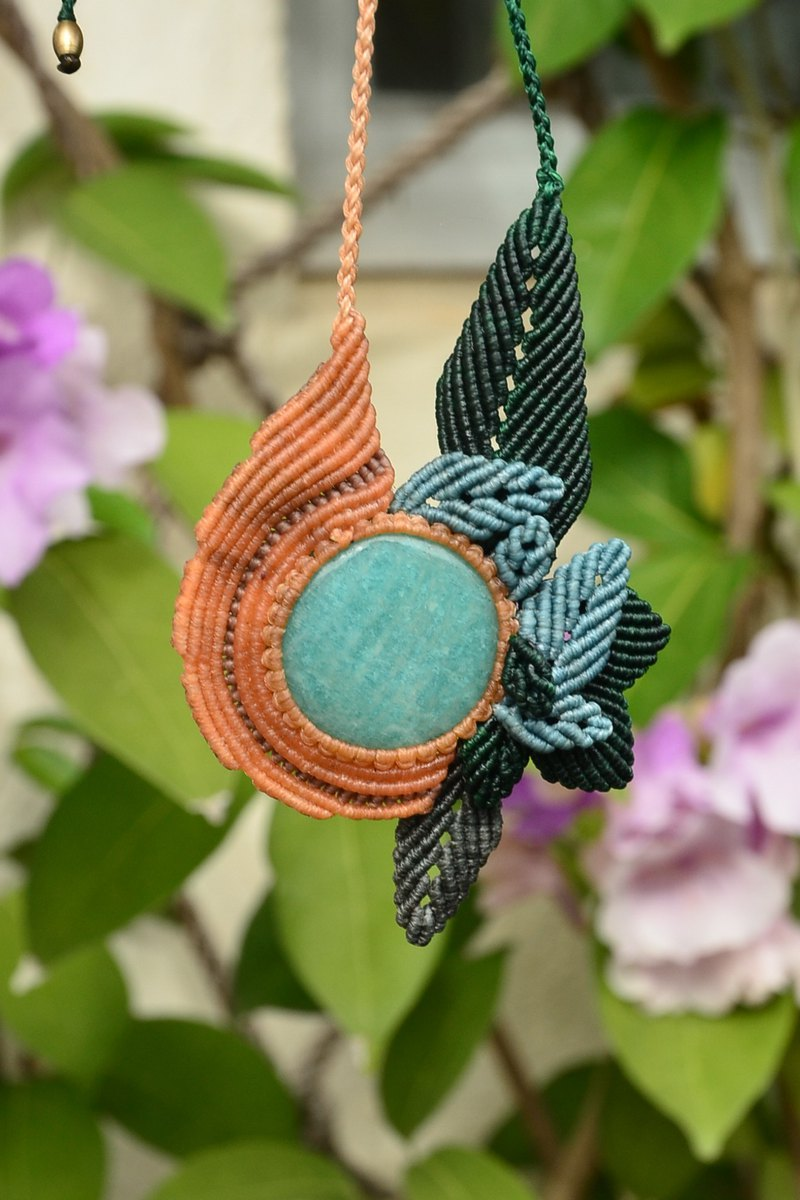 Amazonite Macrame Jewelry