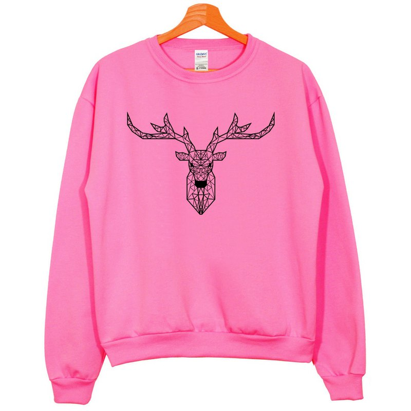 Deer Geometric University T bristles neutral version pink geometry Deer universe design own brand Milky Way fashion triangle
