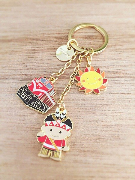 Golden Love Taiwan Key Chain-Alishan