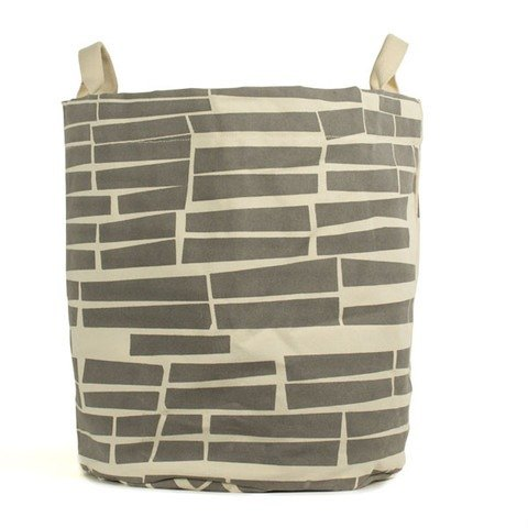 Canada fluf organic cotton portable storage dual-use bag - small brick (large) warm gray